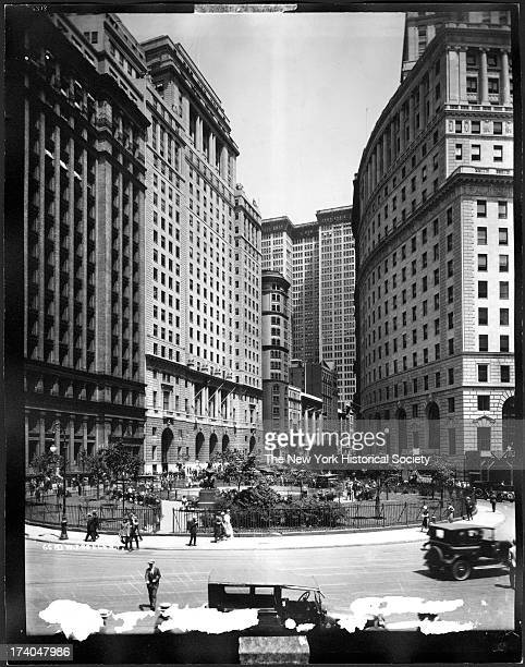Broadway and Bowling Green looking north New York New York early twentieth century