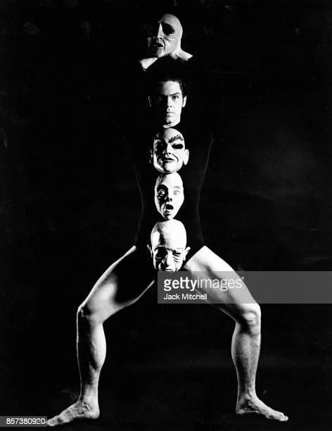 Broadway and modern dancer Dean Crane 1960