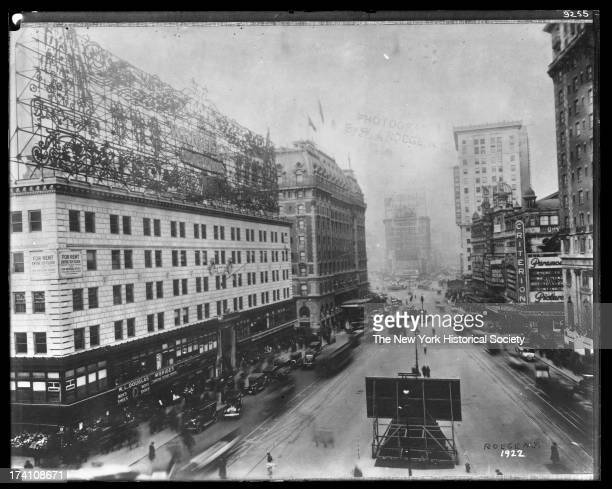 Broadway north from 43rd Street New York New York 1922