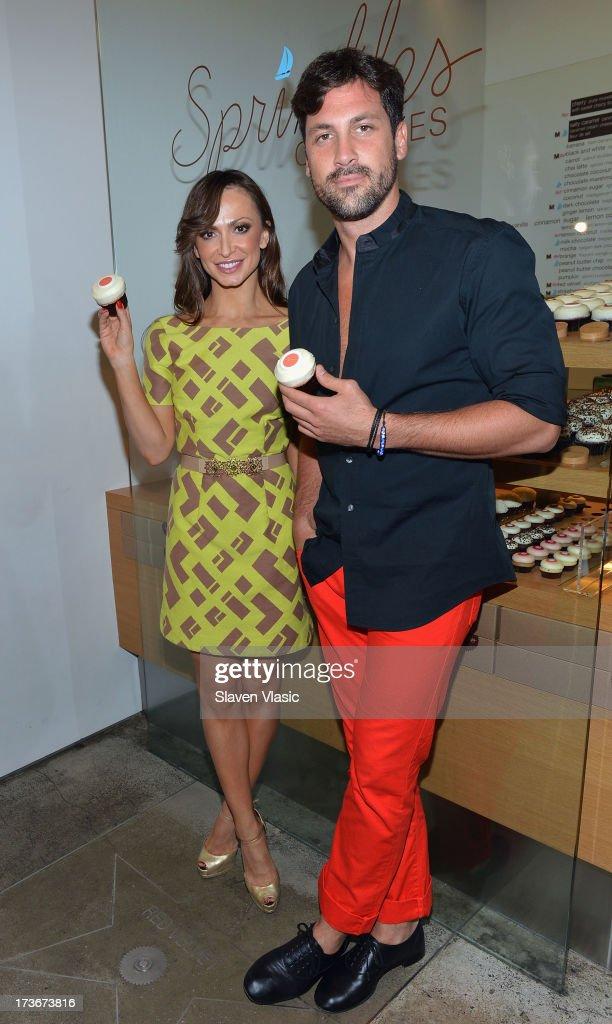 "Karina Smirnoff Unveils ""Forever Tango"" Cupcake"
