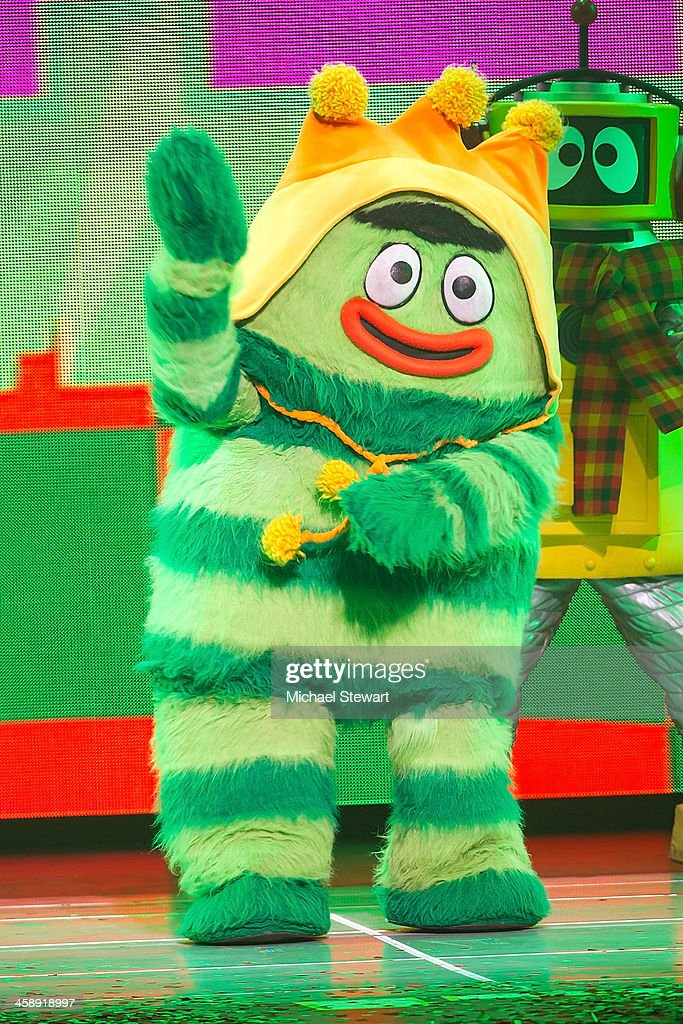 Brobee performs during 'Yo Gabba Gabba! Live!' at The Beacon Theatre on December 22, 2013 in New York City.