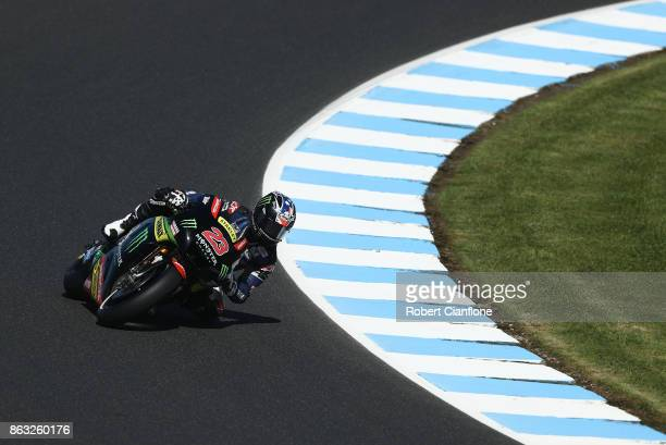 Broc Parkes of Australia rides the MONSTER YAMAHA TECH 3 Yamaha during free practice for the 2017 MotoGP of Australia at Phillip Island Grand Prix...