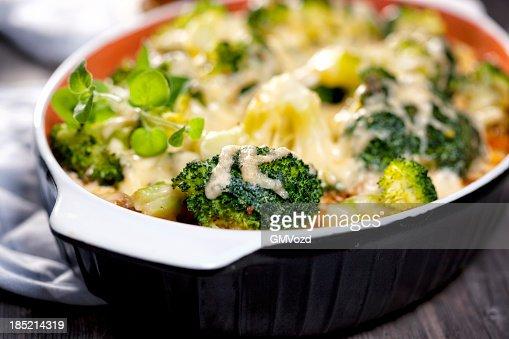 ブロッコリキャセロール料理