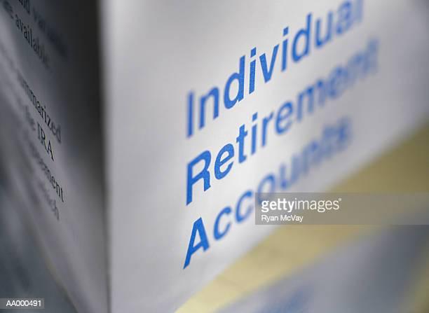 Brochure on Individual Retirement Accounts