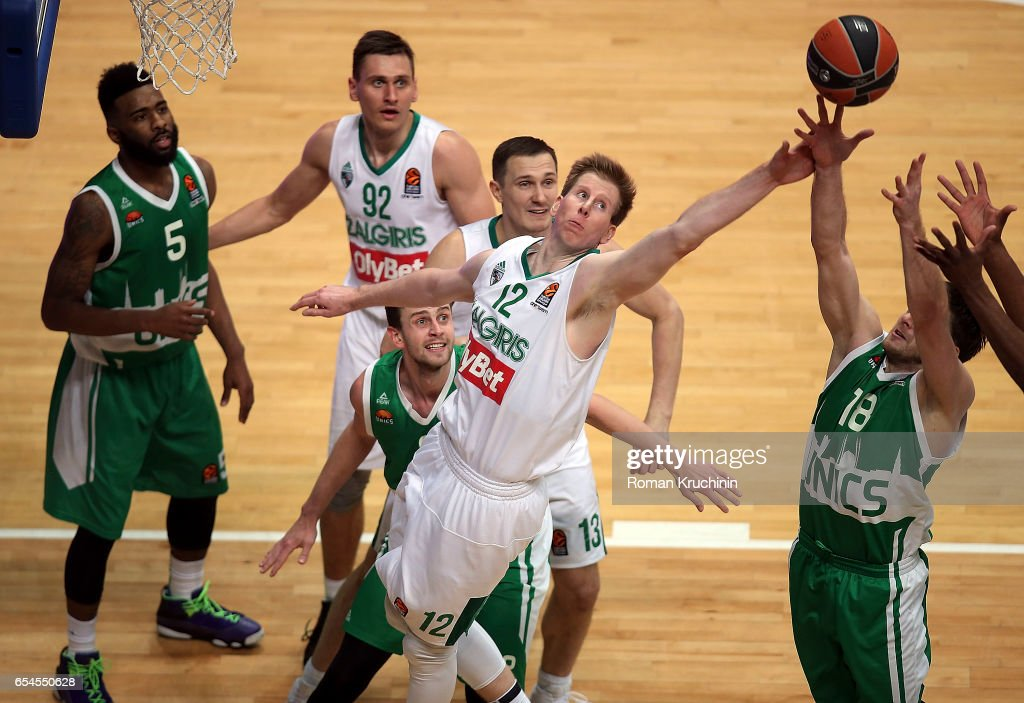 Unics Kazan v Zalgiris Kaunas - Turkish Airlines Euroleague