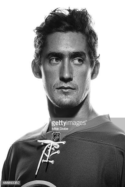 Brock Nelson of the New York Islanders poses for a portrait on September 17 2015 at the Nassau Coliseum in Uniondale New York