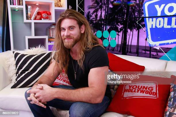 Brock O'Hurn visits the Young Hollywood Studio on October 11 2017 in Los Angeles California