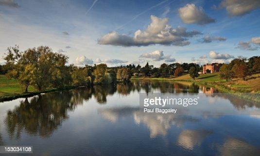 Brocket Hall - Autumn Reflections