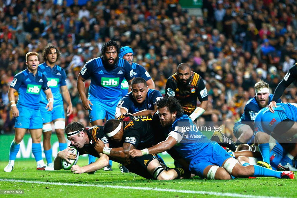 Super Rugby Rd 7 - Chiefs v Blues