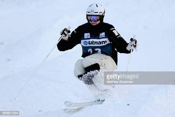 Brodie Summers of Australia competes in the Men's Moguls qualifications during the FIS Freestyle World Cup at Deer Valley Resort on February 2 2017...