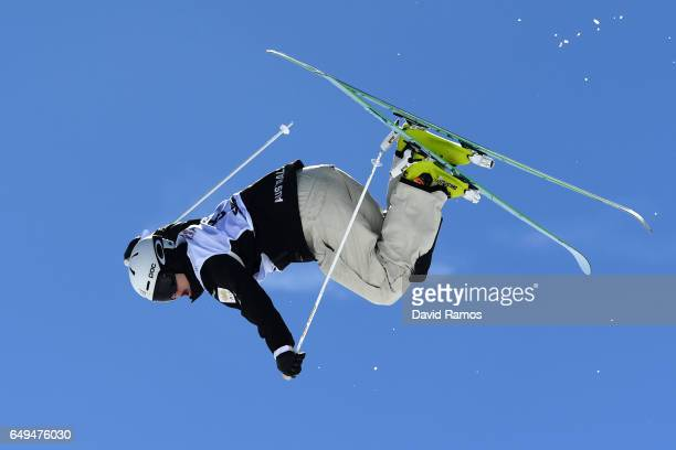 Brodie Summers of Australia competes in the Men's Moguls qualification on day one of the FIS Freestyle Ski Snowboard World Championships 2017 on...