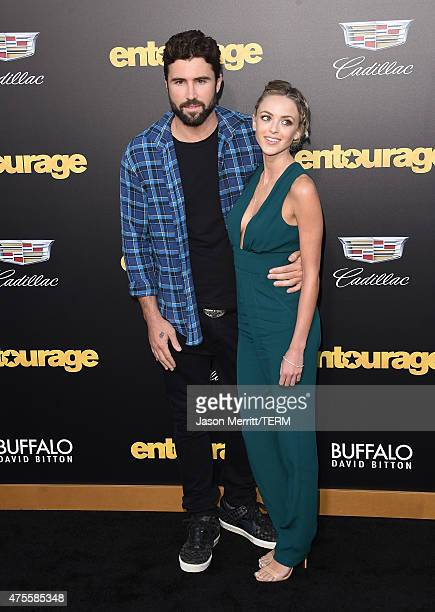 Brody Jenner and Kaitlynn Carter attends the premiere of Warner Bros Pictures' 'Entourage' at Regency Village Theatre on June 1 2015 in Westwood...