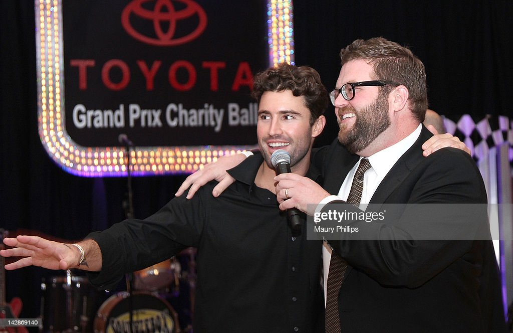 Brody Jenner and TV personality Rutledge Wood attend the Toyota Charity Ball on April 13, 2012 in Long Beach, California.