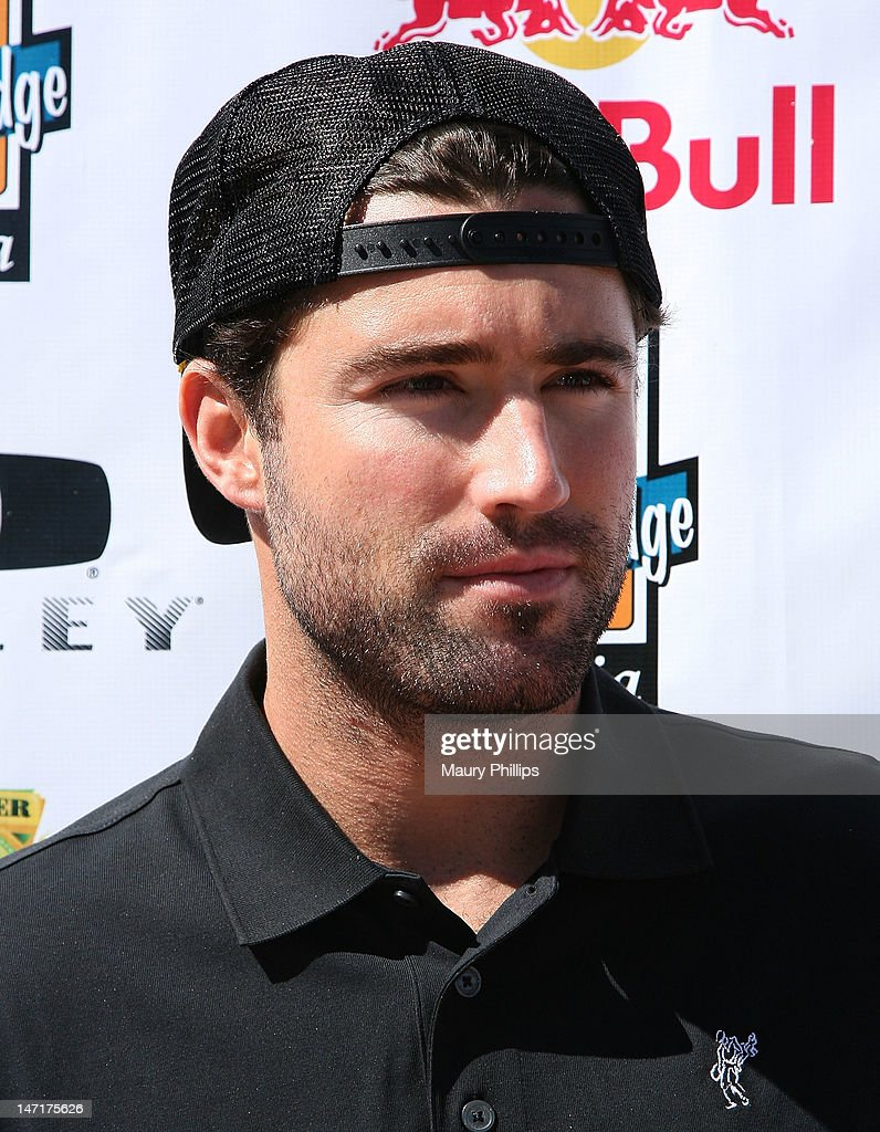 Brody Jenner attends Ryan Sheckler X Games Celebrity Golf Tournament at Trump National Golf Course on June 26, 2012 in Palos Verdes Estates, California.