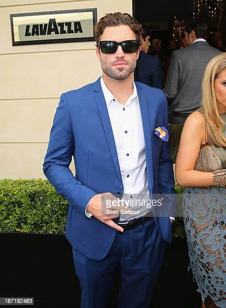 Brody Jenner attends the Lavazza marquee during Oaks Day at Flemington Racecourse on November 7 2013 in Melbourne Australia