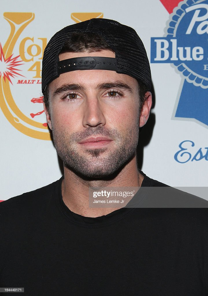 Brody Jenner attends the Snoop Dogg Presents: Colt 45 'Works Every Time' mansion party with Evan and Daren Metropoulos at The Playboy Mansion on October 19, 2012 in Beverly Hills, California.