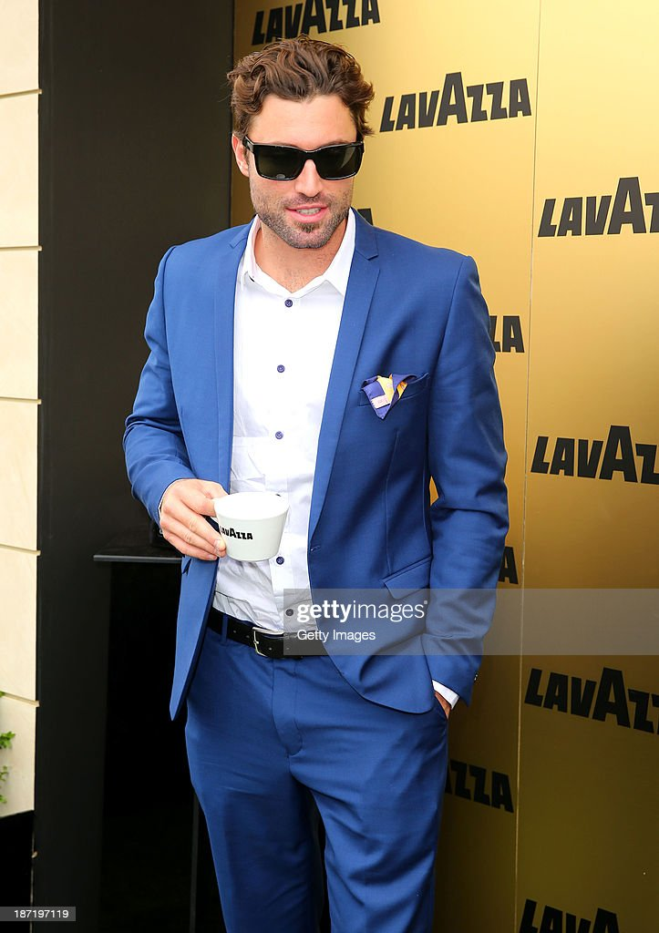 <a gi-track='captionPersonalityLinkClicked' href=/galleries/search?phrase=Brody+Jenner&family=editorial&specificpeople=689564 ng-click='$event.stopPropagation()'>Brody Jenner</a> is seen at the Lavazza Marquee during Crown Oaks Day at Flemington Racecourse on November 7, 2013 in Melbourne, Australia.