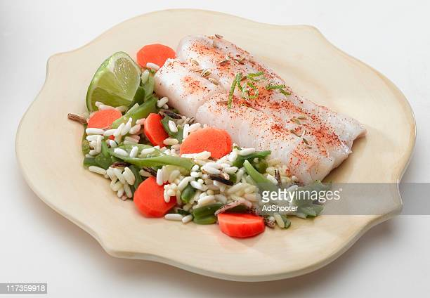 Broiled Cod Fish
