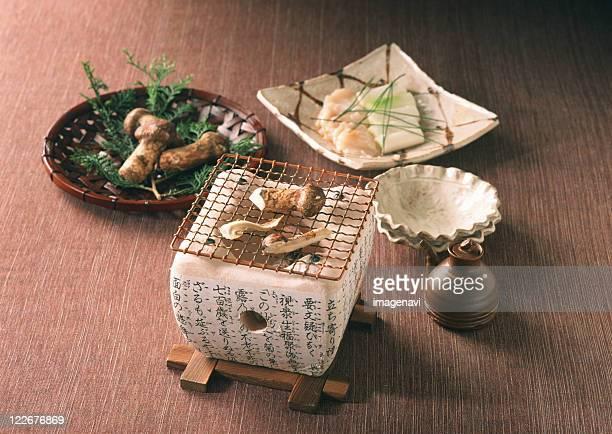 Broiled Matsutake Mushroom
