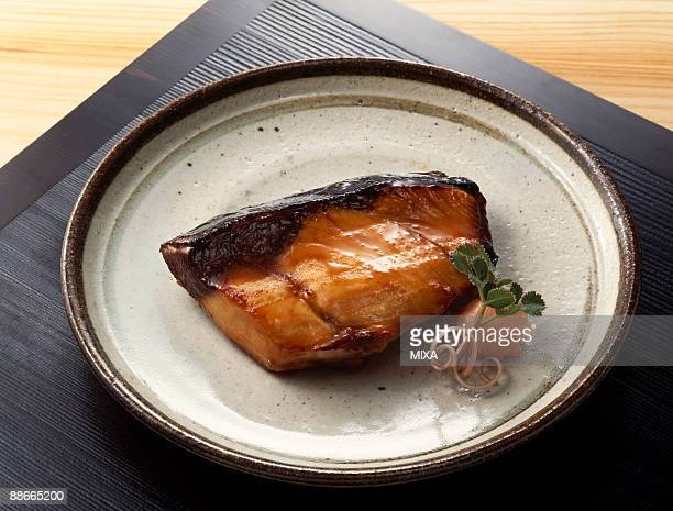 Broiled yellowtail