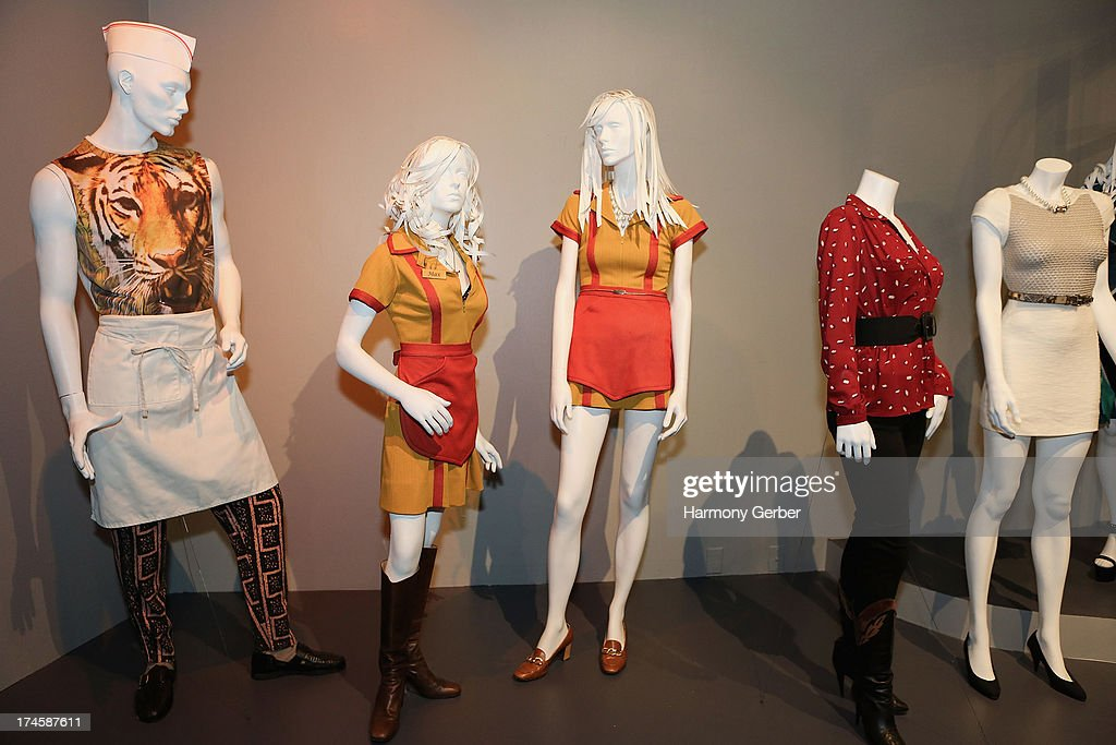 2 Broke Girls' wardrobe displayed at The Academy Of Television Arts & Sciences' Costume Design & Supervision Peer Group 65th Primetime Emmy Awards Nominee Reception on July 27, 2013 in Los Angeles, CA.