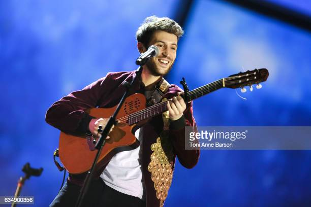 Broken Back performs during the '32nd Victoires de la Musique 2017' at Le Zenith on February 10 2017 in Paris France