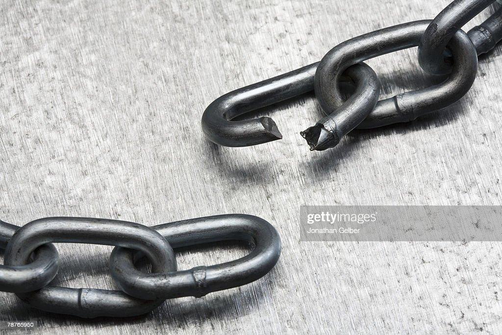 A broken chain