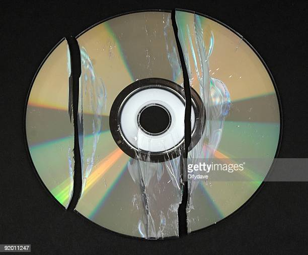 Broken DVD CD