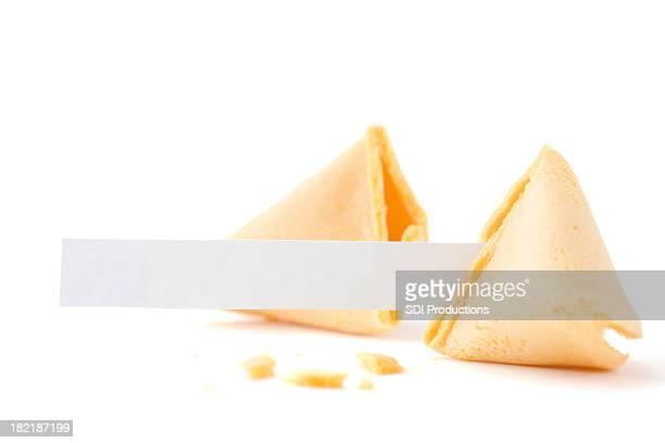 Broken Biscuit divinatoire avec papier