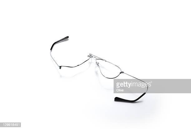 broken goggles on road