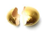 Broken Gold Egg