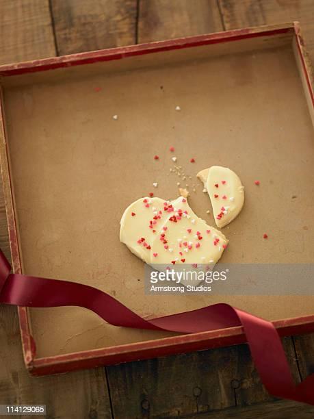 Broken Heart Cookie