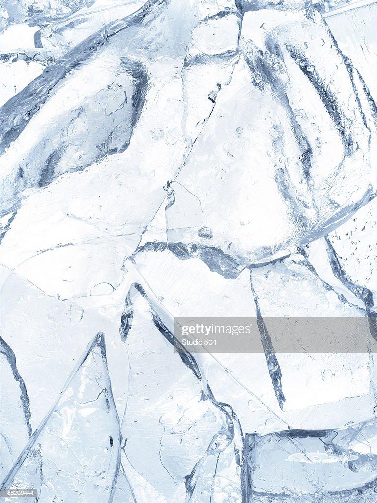 Broken ice : Stock Photo