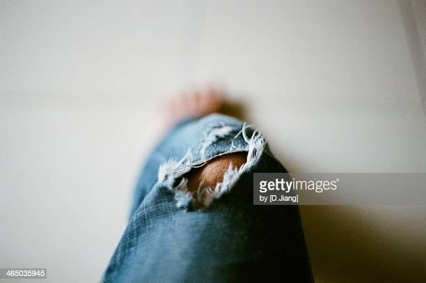 Broken Jeans