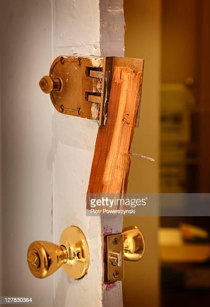 Broken lock.