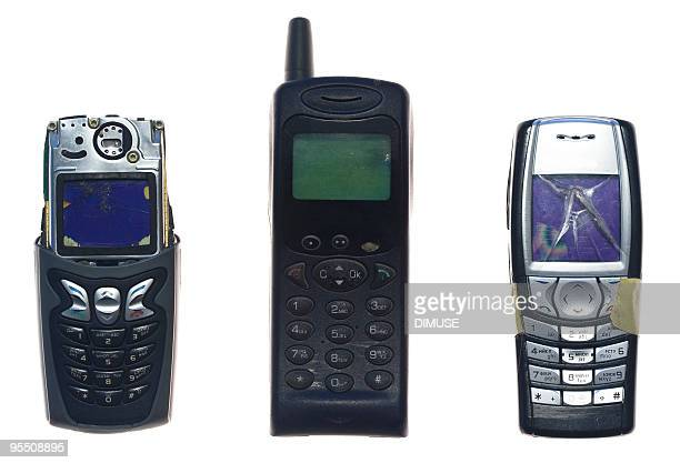 broken mobile phones