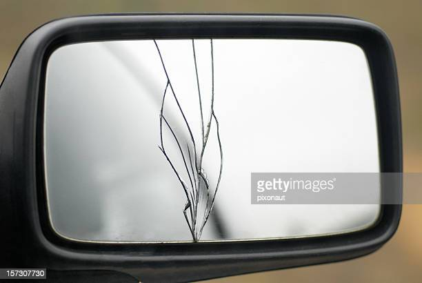 Broken Rear Mirror