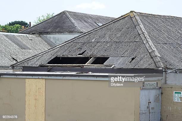 Cassé sur le toit