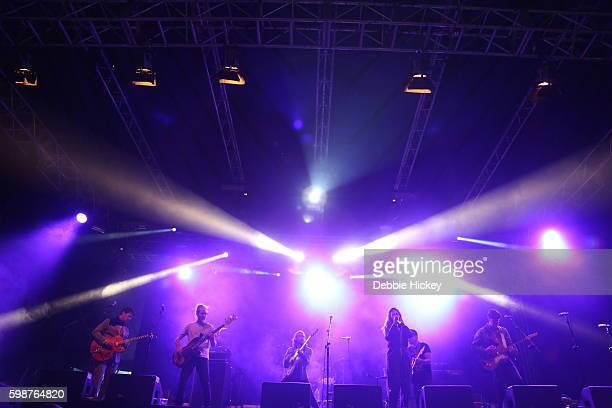 Broken Social Scene performs at Electric Picnic Festival at Stradbally Hall Estate on September 2 2016 in Laois Ireland