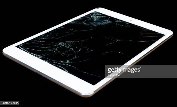 Broken tablet pc