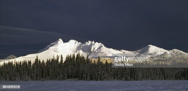 Broken Top Mountain Oregon Cascades