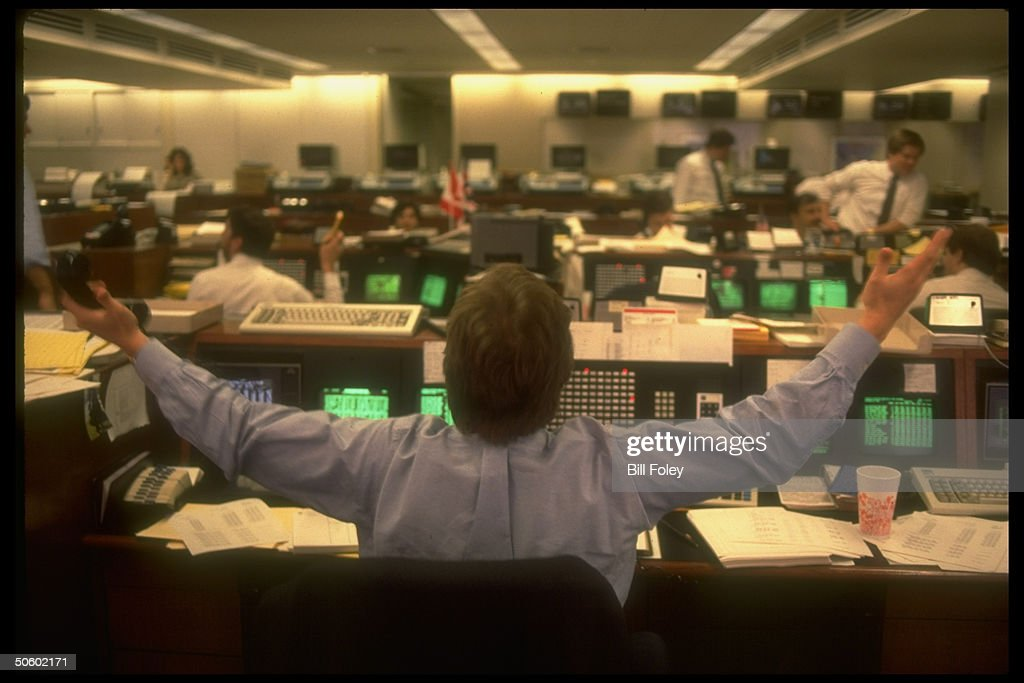 Time Life On The Trading Floor Getty Images