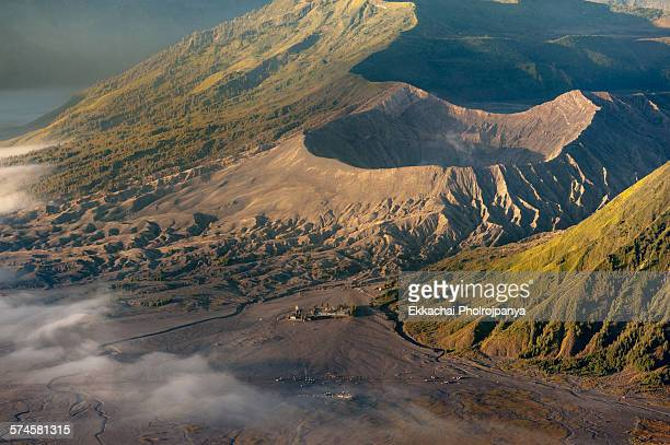 Bromo and temple