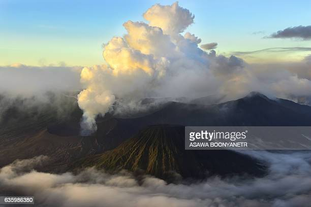 Bromo Moutain active volcano