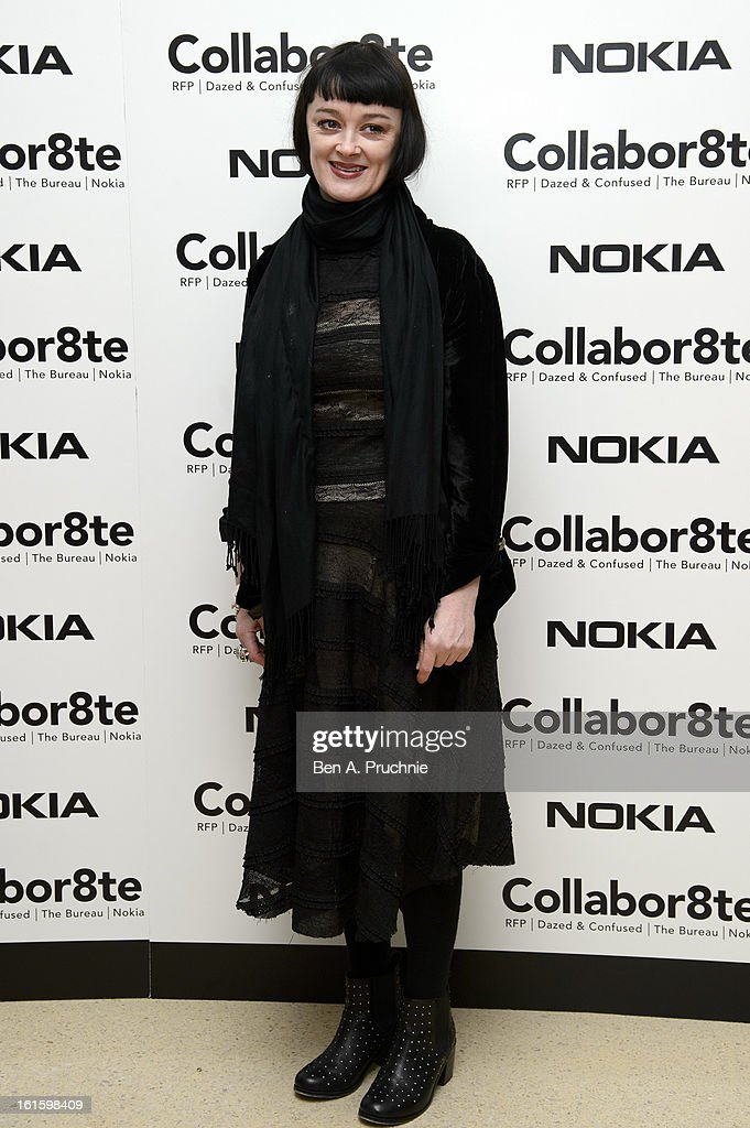 Bronagh Gallagher attends the premiere of Rankin's Collabor8te connected by NOKIA at Regent Street Cinema on February 12, 2013 in London, England.