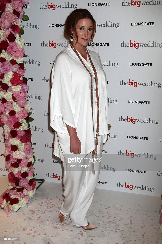 Bronagh Waugh attends a special screening of 'The Big Wedding' at The Mayfair Hotel on May 23, 2013 in London, England.