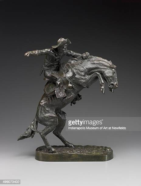 Bronco Buster by American artist Frederic Remington 1898 Gift of Mrs Theodore B Griffith