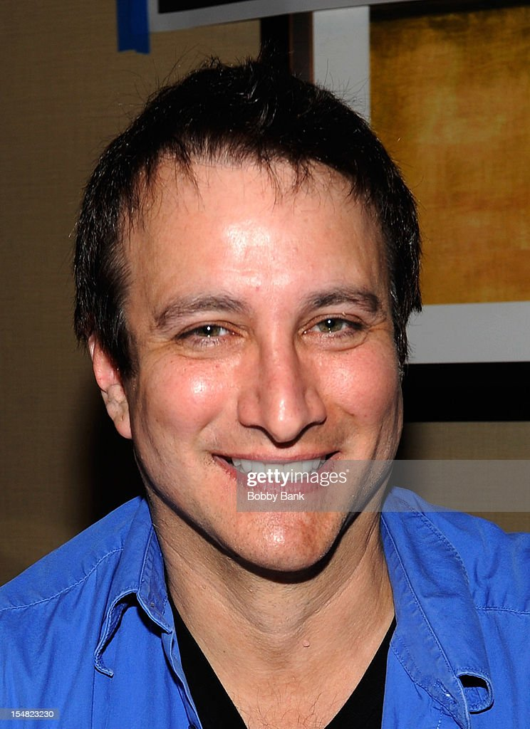 <a gi-track='captionPersonalityLinkClicked' href=/galleries/search?phrase=Bronson+Pinchot&family=editorial&specificpeople=234837 ng-click='$event.stopPropagation()'>Bronson Pinchot</a> attends the 2012 Chiller Theatre Expo at the Sheraton Parsippany Hotel on October 26, 2012 in Parsippany, New Jersey.