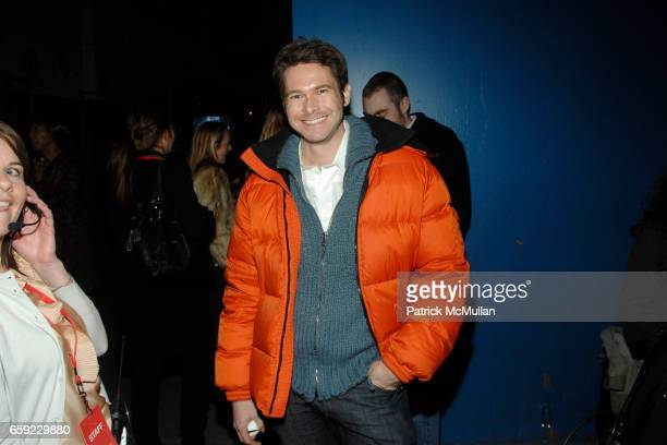 Bronson van Wyck attends McQ Alexander McQueen for Target Debuts TARGET McQ MARKET in NYC at St John's Center on February 13 2009 in New York City