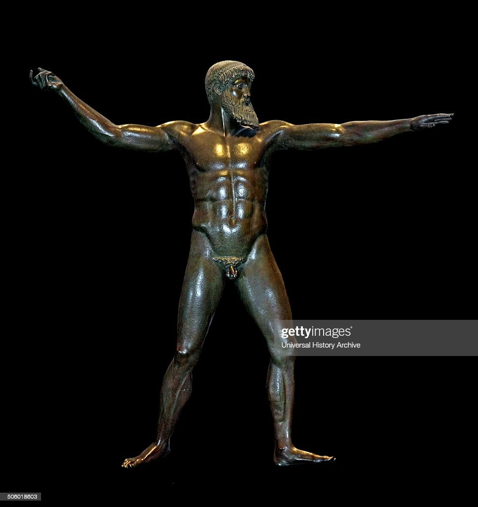 bronze cast of a statue pictures getty images